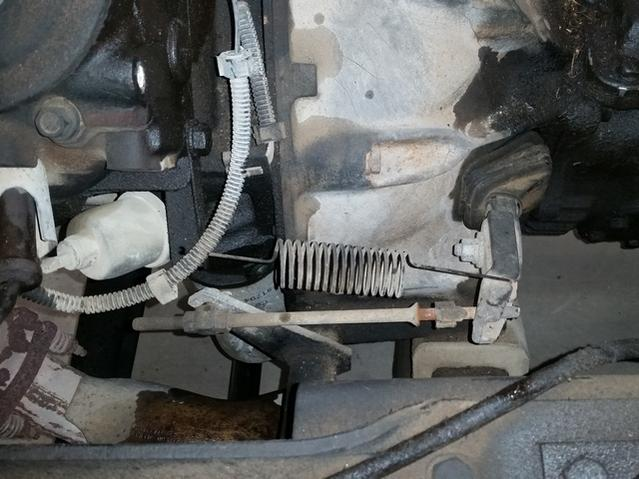 1970 C60 Clutch Fork Linkage Repair The 1947 Present Chevrolet