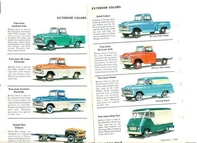 1959 Chevy Apache Original Paint Scheme The 1947 Present