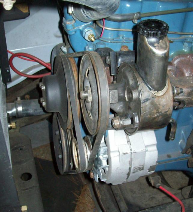 1966 6yl Power Steering conversion help - The 1947 - Present