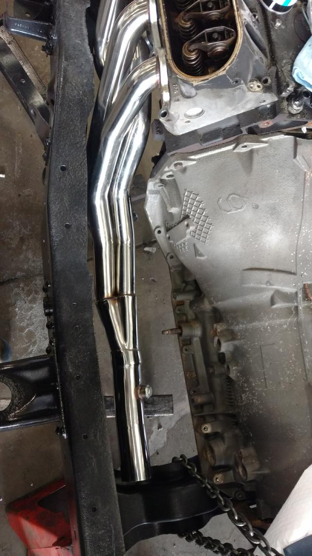 What LS Headers for 4x4 square body? - The 1947 - Present