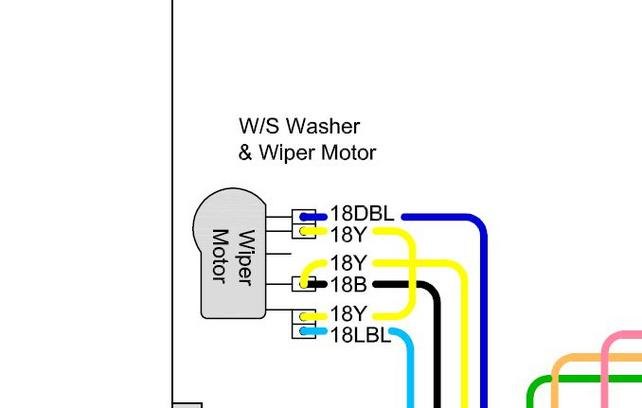Wiper switch & motor wiring - Is this correct? - The 1947 - Present on