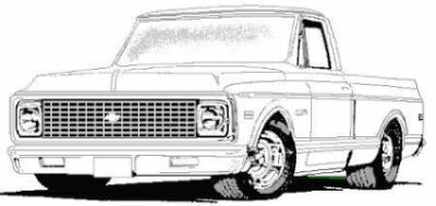 gmc coloring pages - help locate a pic the 1947 present chevrolet gmc