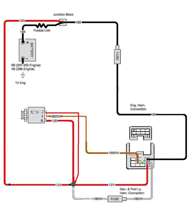 Fine Gm Internal Regulator Wiring Diagram Gallery - Electrical ...