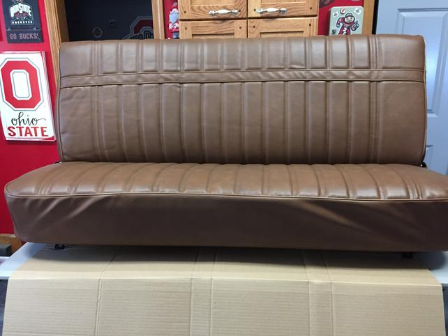 Surprising Oh 1974 Chevy Gmc Truck Bench Seat Restored The 1947 Andrewgaddart Wooden Chair Designs For Living Room Andrewgaddartcom