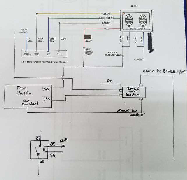 Gen 3 Drive By Wire cruise control HOW TO - Page 2 - The ... Dakota Digital Turn Signal Wiring Diagram on