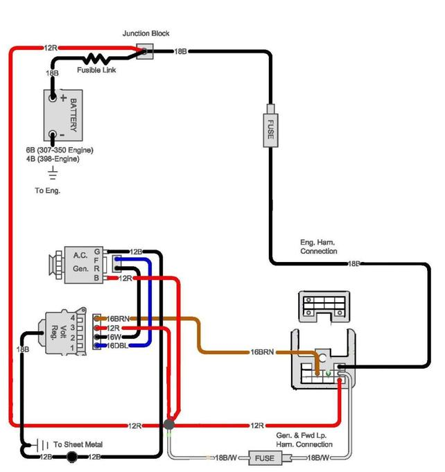 Marvelous Fuse Panel Detailed Description Or Diagram The 1947 Present Wiring Cloud Geisbieswglorg