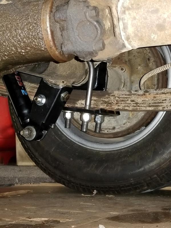 Rear Axle Lowering Axle Flip Kit for Silverado 1500 Pickup 99-06 C-Notch Section