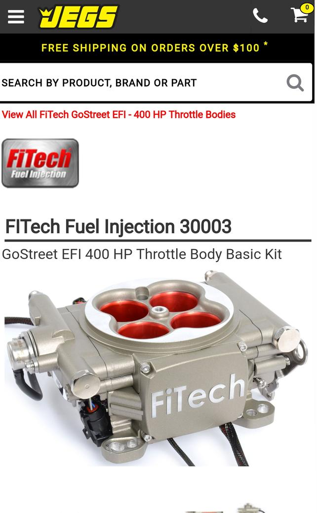 Has anyone installed fuel injection? - The 1947 - Present