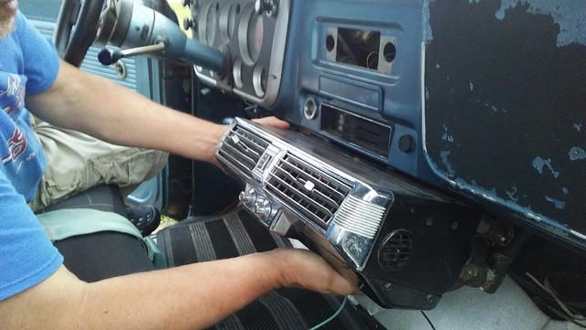 Has anyone installed a Vintage Air Mark IV underdash unit ... on