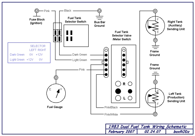 chevy fuel tank selector wiring diagram  auto wiring