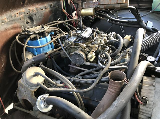 MSD Atomic EFI on '79 K30 in Cali - The 1947 - Present