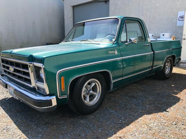 79 Chevy Truck >> How Rare Is This Shamrock Green 79 Silverado The 1947 Present