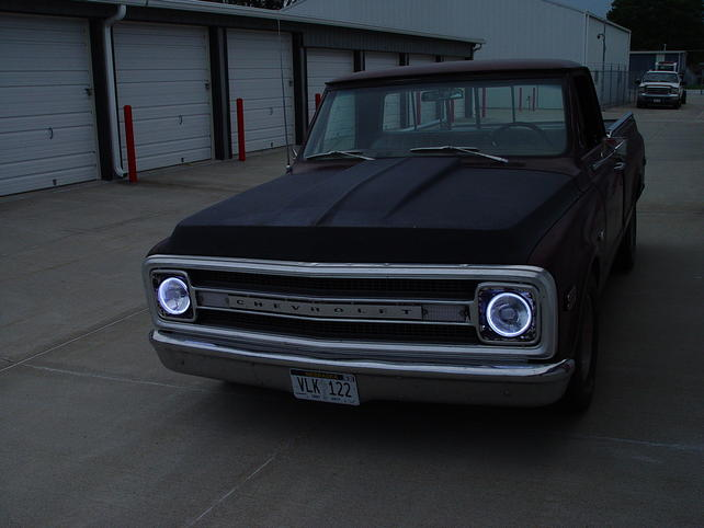 Halo headlights in the truck - The 1947 - Present Chevrolet ... on