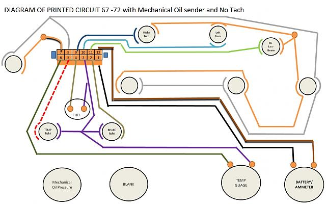 Instrument Cluster wiring Diagram - The 1947 - Present ... on