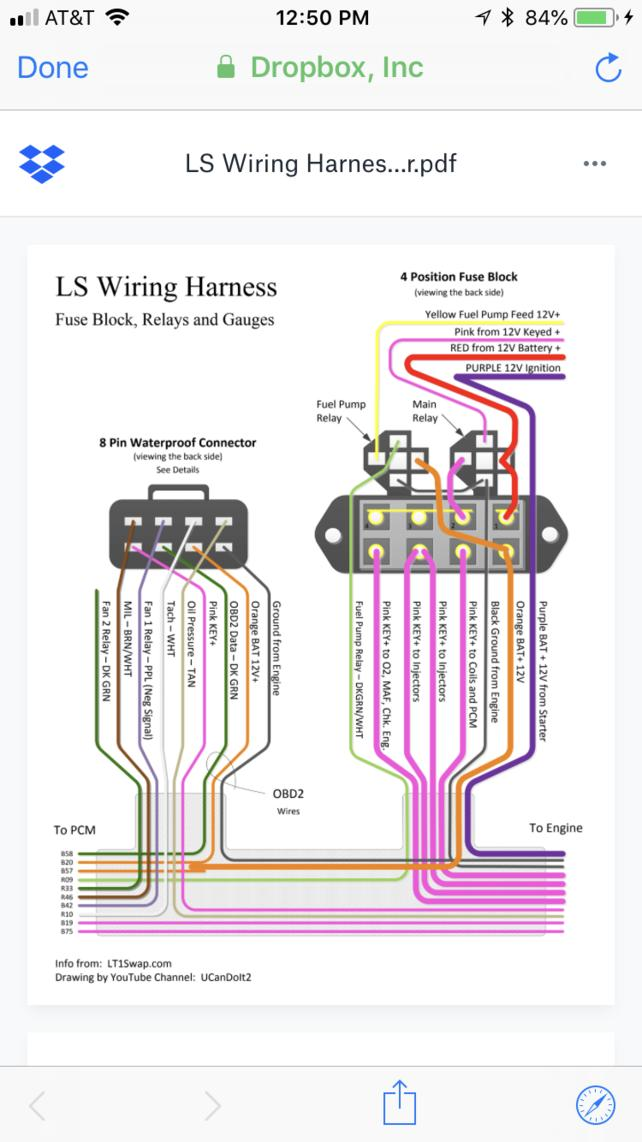 finish wiring of a stand alone harness - the 1947 - present ... ls swap fuse diagram ls3 wiring harness diagram 67-72 chevy trucks