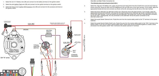 1 wire alternator wiring diagram for 1970 chevy truck  2014