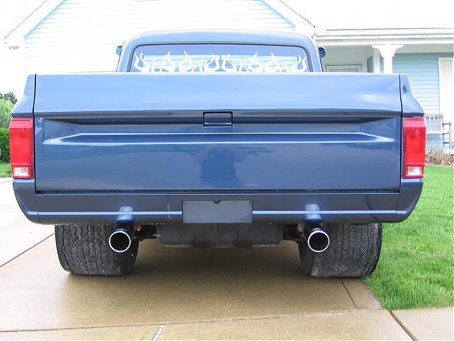 15x12 Backspacing The 1947 Present Chevrolet Gmc Truck Message