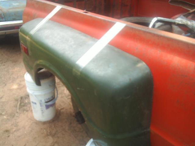 67 72 chevy truck stepside fenders