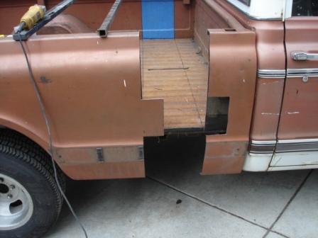 Shorten A Long Bed The 1947 Present Chevrolet Amp Gmc