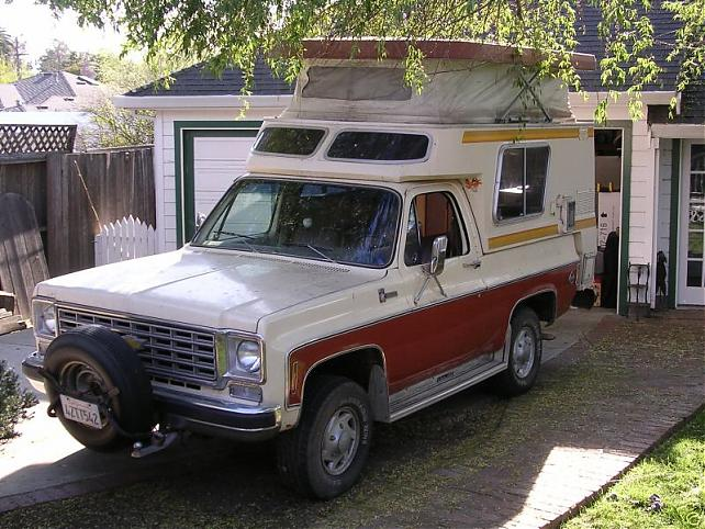 Pretty decent looking 1977 Blazer Chalet-denver craigslist