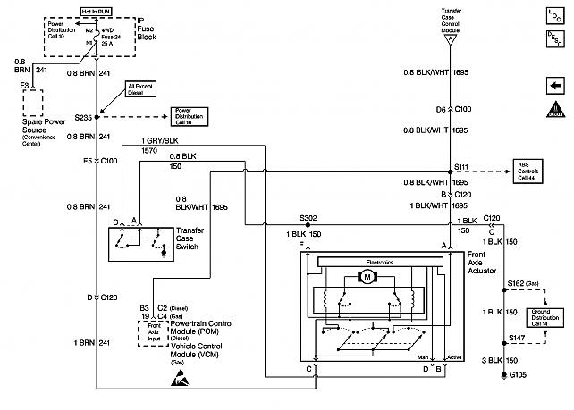 1998 chevy k1500 fuel pump relay diagram html