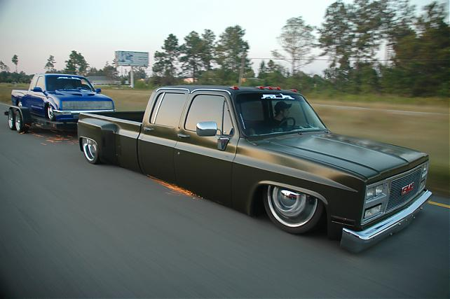 76 chevy dually getting slammed - The 1947 - Present Chevrolet & GMC