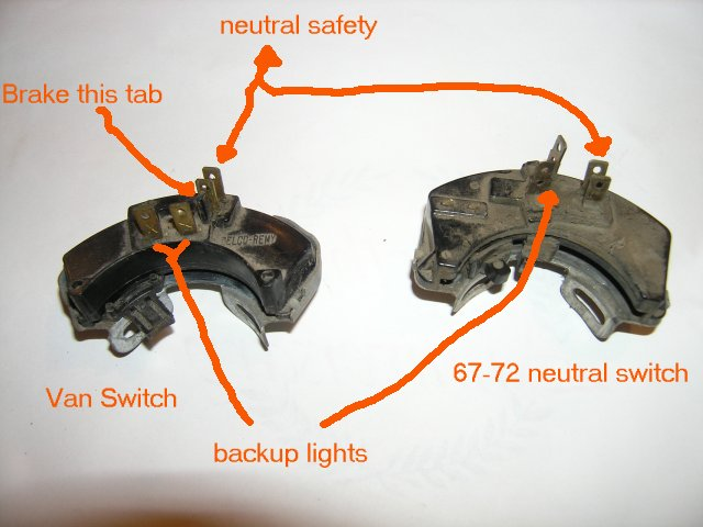 wire up a neutral safety swith? - The 1947 - Present Chevrolet & GMC Truck  Message Board Network67-72 Chevy Trucks