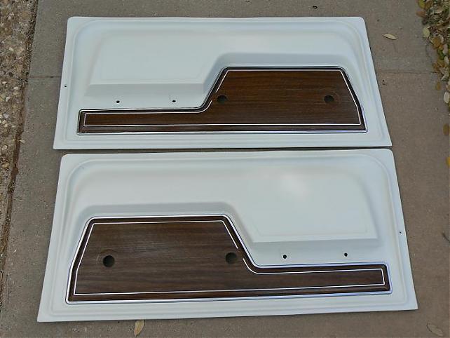 1972 parchment door panels restored the 1947 for 04 chevy silverado door panel removal