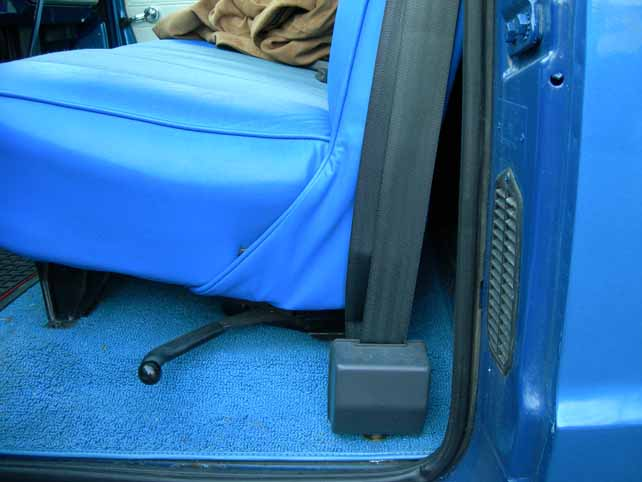 Shoulder Seat Belts On A 70 The 1947 Present