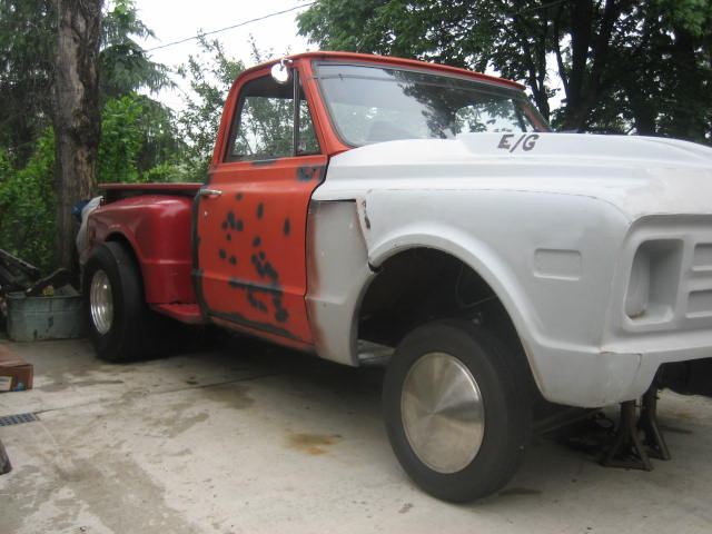Anyone Got A Straight Axle Gasser Style Truck The 1947 Present