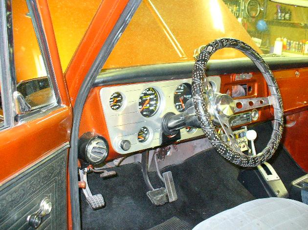 Automatic floor shifter - The 1947 - Present Chevrolet & GMC Truck