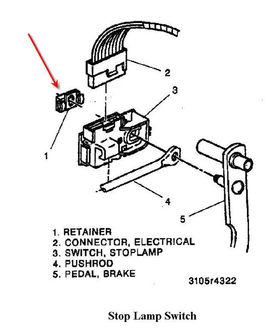 1998 chevy silverado brake light switch wiring diagram wiring 1998 chevy silverado brake light switch wiring diagram