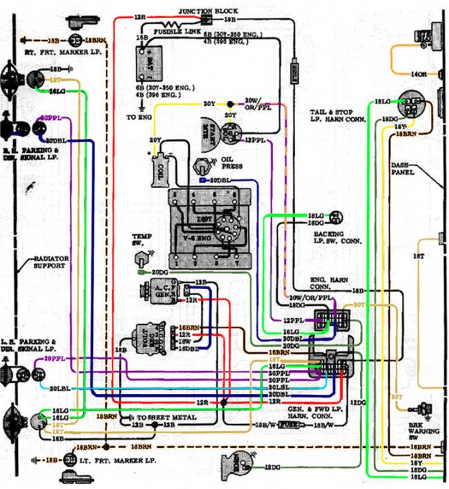 chevy truck underhood wiring diagrams – chuck's chevy truck pages, Wiring diagram