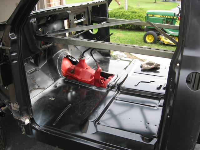How To One Piece Floor Pan Install The 1947 Present