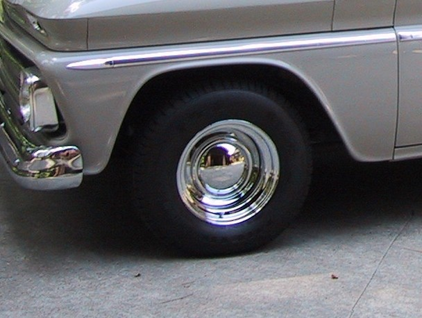 Chrome Reverse Wheels With Baby Moons Autos Post