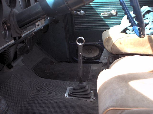 shifter for saginaw 4 speed? - The 1947 - Present Chevrolet