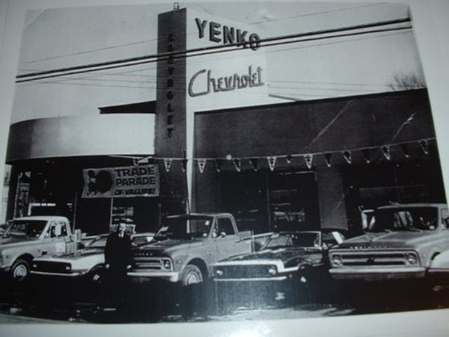 C10's at Yenko Chevrolet - neat old photo - The 1947 - Present ...