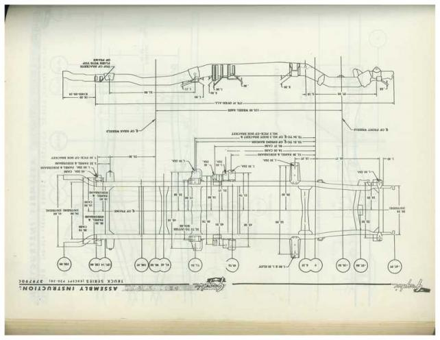 1960-66 Chevy/GMC Truck Frame Diagram - The 1947 - Present Chevrolet ...