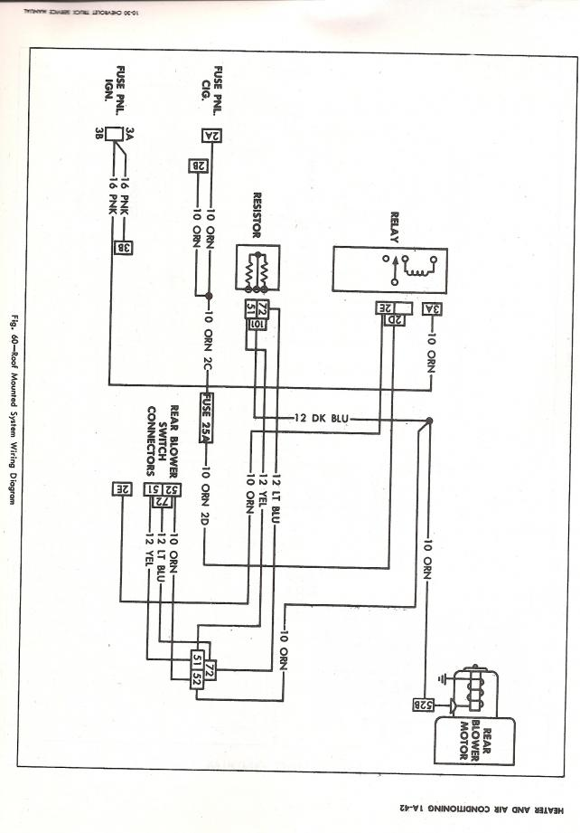 70 Chevy A C Wiring Diagram The 1947 Present Chevrolet Gmc