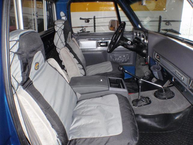 Lets see your seat swaps     - The 1947 - Present Chevrolet & GMC