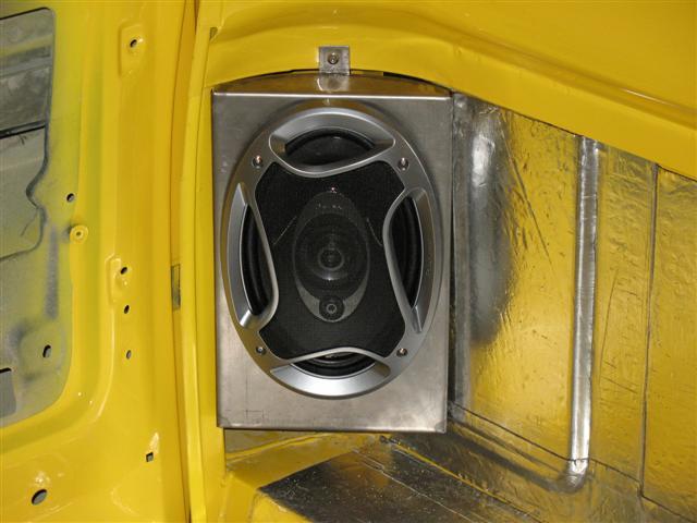 Rear 6x9 Speaker Mounts The 1947 Present Chevrolet