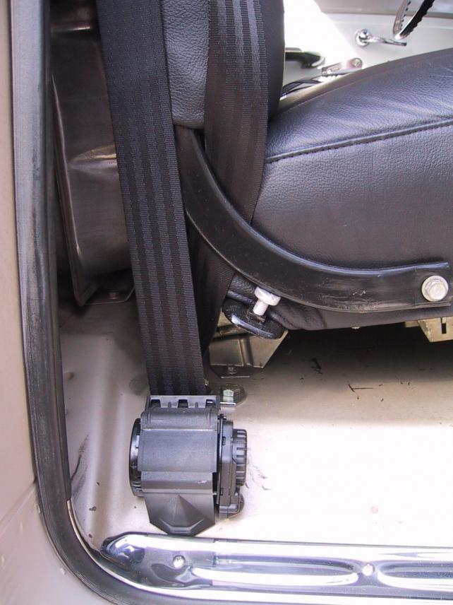 Need Help Pics 3 Point Seat Belt Conversion The 1947
