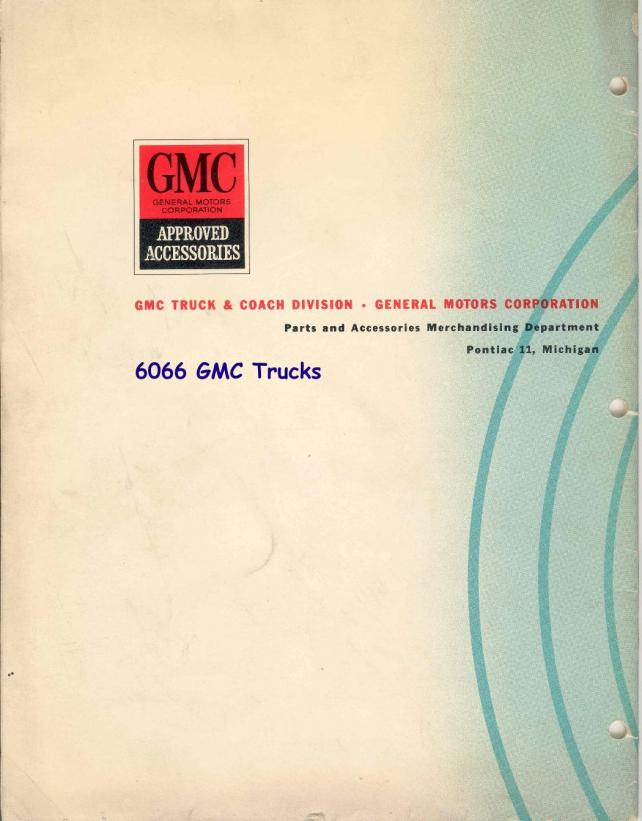 Description et spécifications Chevrolet GMC 1960-1966 Attachment