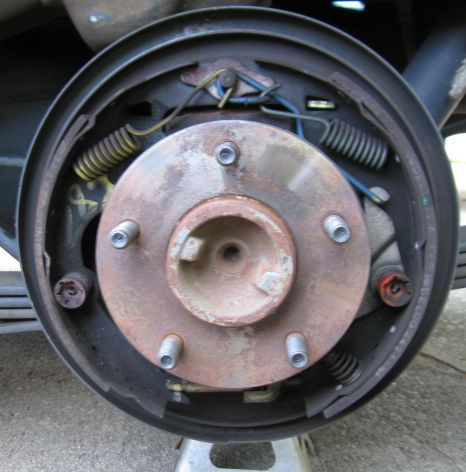 2003 ext cab s10 rear brake drum help? - the 1947 - present chevrolet & gmc  truck message board network