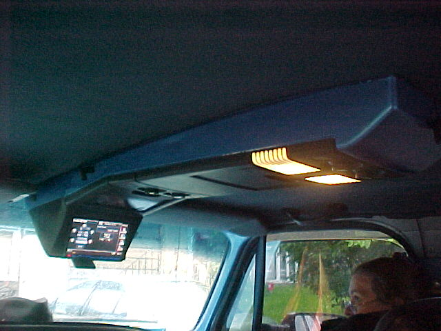 Overhead Console Double Din Stereo Install Chevy Truck