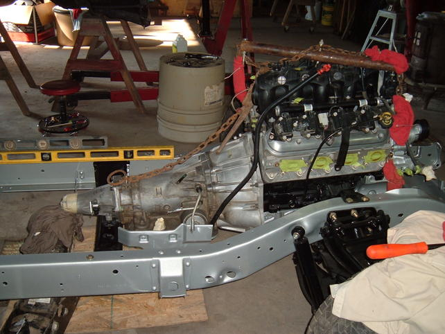 Ls Engine Install In A 64 66 Chevy Truck The 1947