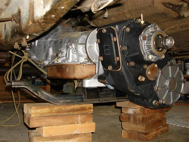 What transfer case is this? - The 1947 - Present Chevrolet