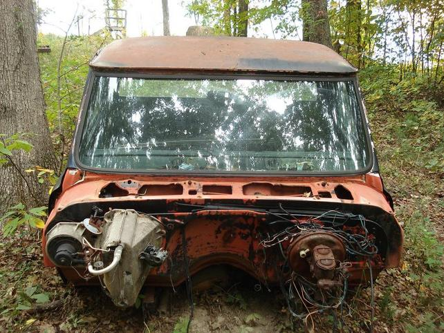 67 72 Chevy Truck Parts >> Tn 70 72 Chevy Cab And Leaf Spring Rearend The 1947 Present
