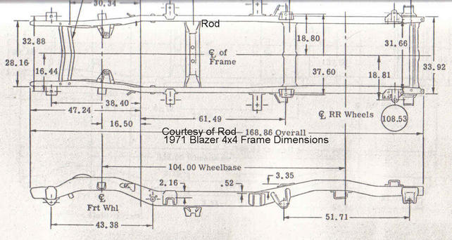 Looking For Blazer Frame Dimesions - Page 2 - The 1947 - Present ...