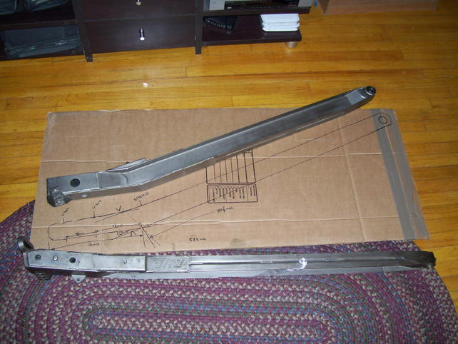 Trailing arm length, C-Notch Placement - The 1947 - Present